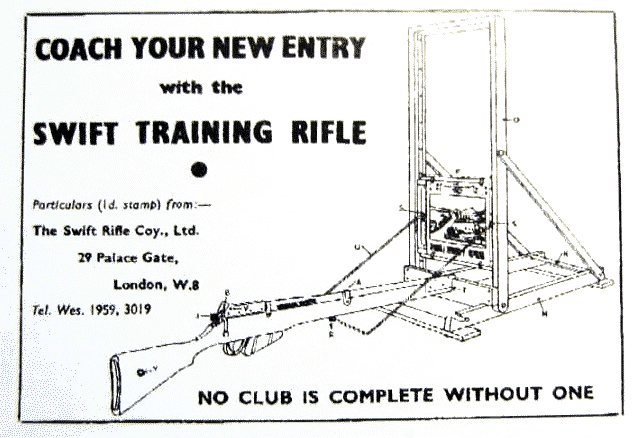 The Swift and Long-Branch training rifles